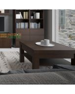 Pello Large Coffee Table in Dark Mahogany