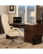 Pello dark mahogany desk at Price Crash Furniture
