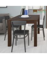 Pello Extending Dining Table in Dark Mahogany