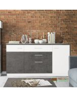 Zingaro Sideboard (wide) - 2 doors, 2 drawers, 1 flip down compartment