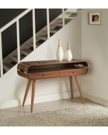 Jual Furnishings JF705 Console Table in Walnut at Price Crash Furniture. Matching items available