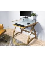 Oak Computer Desk PC201-900mm by Jual Furnishings