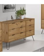 Core Products Augusta 3+3 Wide Chest of Drawers