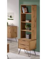 Core Products Augusta Narrow Bookcase with 2 Drawers