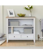 Baumhaus Signature Grey Low Bookcase