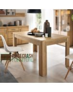 Cortina Extending Dining Table In Grandson Oak