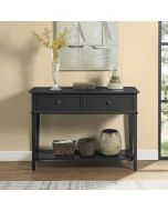 Franklin Console Table in Black by Dorel