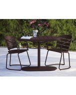 3 Piece Bistro Set, Metro-Retro Sandy Brown, INTELLIFIT, Cosco Outdoor Living