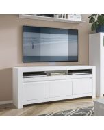 Novi 3 Door TV Cabinet In Alpine White