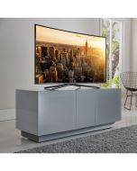Element XL EMT1250XL High Gloss Grey TV Stand by Alphason at Price Crash Furniture. Also in Black or White. Also in 2500mm wide
