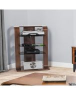 JF204 Entertainment Unit / Hi-Fi Stand in Walnut by Jual at Price Crash Furniture. Matching items available