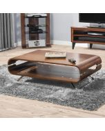 JF302 San Marino Rectangle Coffee Table in Walnut by Jual at Price Crash Furniture. Matching items available