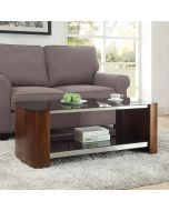 JF311 Melbourne Coffee Table in Walnut by Jual at Price Crash Furniture. Matching items available