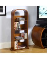 Jual Furnishings JF501 San Marino DVD Rack / CD Storage Shelf in Walnut by Jual at Price Crash Furniture. Matching items available