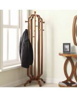 Jual Furnishings JF505 San Marino Coat Stand in Walnut by Jual at Price Crash Furniture. Matching items available