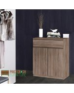 Naia Sideboard - 1 Drawer 2 Doors In Truffle Oak
