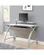 PC201 Helsinki 1300 Home Office Desk in Grey by Jual at Price Crash Furniture. Matching home office furniture items available.