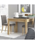 Shetland Extending Dining Table (90 to 180 cm) at Price Crash Furniture. Matching furniture items available.
