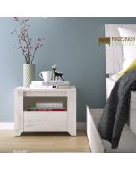 Angel 1 Drawer Bedside Cabinet