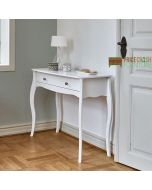 Steens Baroque 1 Drawer Hallway Console Table in White at Price Crash Furniture. Matching items available. Also available in Grey or Black
