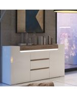 Toronto 2 Door 3 Drawer Sideboard (inc. Plexi Lighting)