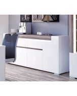 Toronto Wide 4 Door 2 Drawer Sideboard (inc. Plexi Lighting)