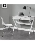 Paxton Laptop Computer Desk in White by Dorel
