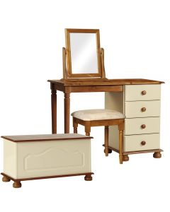 Copenhagen Cream And Pine Package - DressingTable-Stool-Mirror-Ottoman