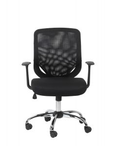 Alphason Atlanta Black Mesh Office Chair