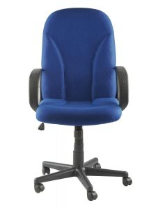Alphason Boston Executive Office Chair In Blue