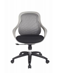 Alphason Croft Grey Mesh Executive Office Chair