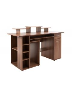 Alphason San Diego Walnut Office Desk