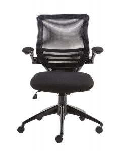 Alphason Stanford Black Mesh Back Operator Chair