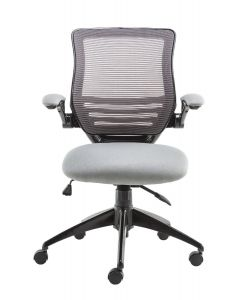 Alphason Stanford Grey Mesh Back Operator Chair