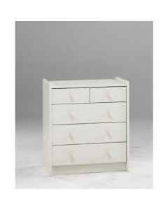 Steens For Kids 2 + 3 Chest Of Drawers In White