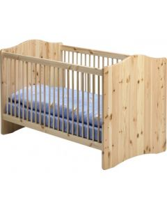 Steens for Kids Natural Pine Cot Bed