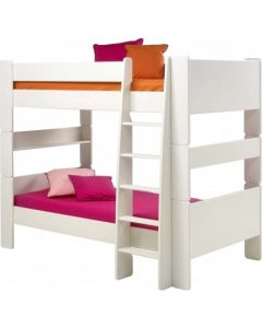 Steens For Kids Bunk Bed in Solid Plain White
