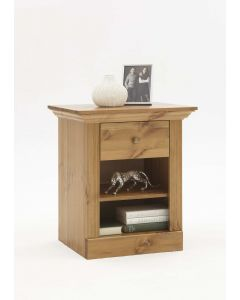Steens Monaco 1 Drawer Bedside Table Solid Pine