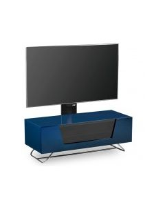 "Chromium 2 Cantilever TV Stand in Blue For 50"" TVs by Alphason"
