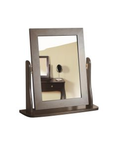 Steens Baroque Vanity Mirror In Dark Coffee