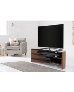 Alphason Finewoods FW1400C Curve Walnut TV Stand