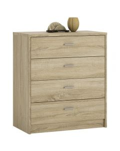 4 You 4 Drawer Chest In Sonoma Oak