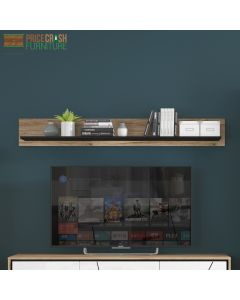 Brolo 167 cm wall shelf Price Crash Furniture
