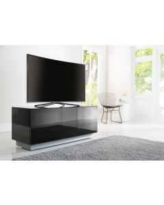 Alphason Element EMT1250XL-BLK Black TV Stand