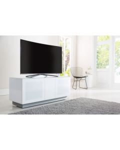 Alphason Element EMT1250XL-WHI White TV Stand