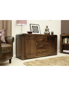 Baumhaus Shiro Walnut Large Sideboard - CDR02A