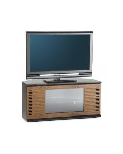 "Arena TV Stand in Black / Walnut For 47"" TVs by Alphason"