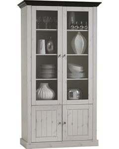 Steens Monaco 2+2 Tall Glazed Bookcase