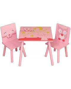 Kidsaw Owl & Pussycat Table & Chairs