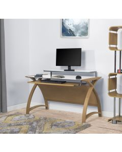 Oak Computer Desk PC201-1300mm by Jual Furnishings